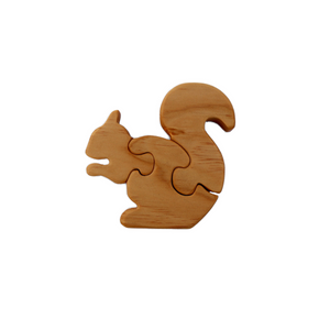 Squirrel Wooden Puzzle