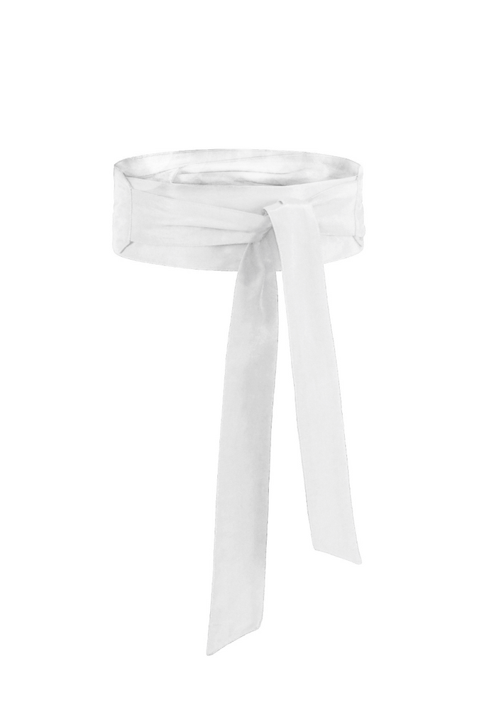 White Cotton Sash