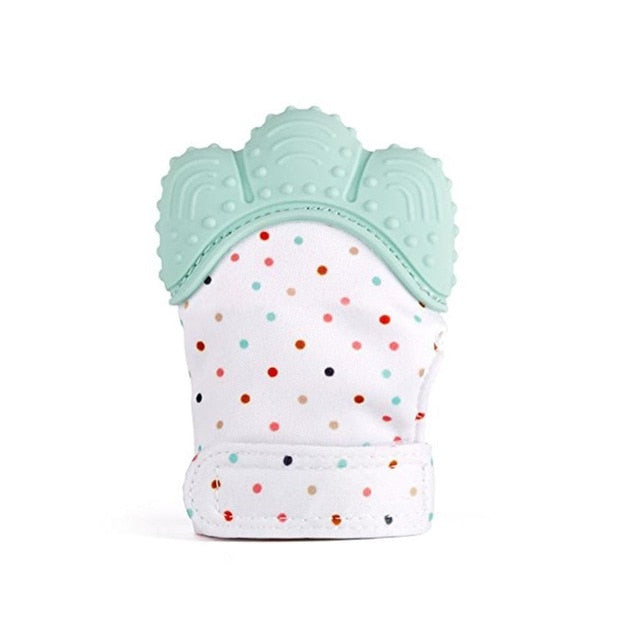 Silicone Baby Mitt Teething Mitten Teething Glove