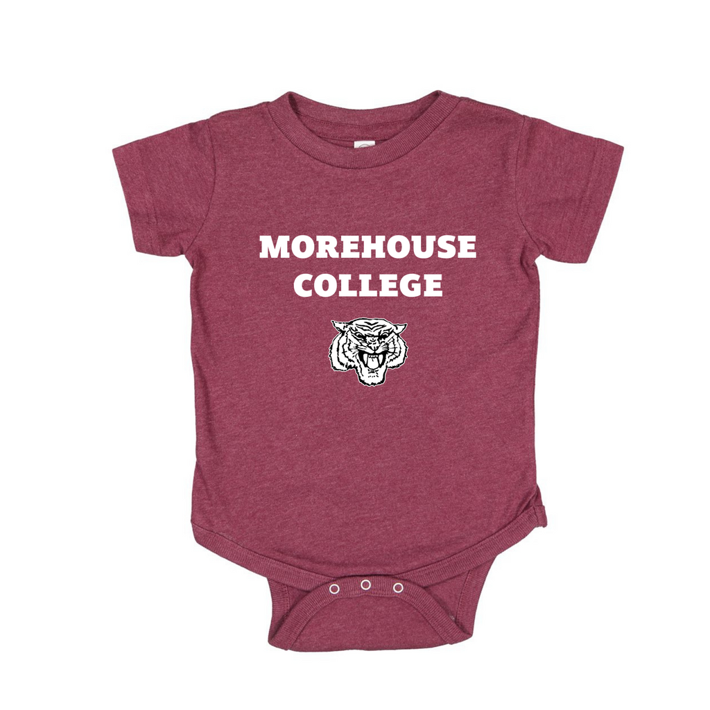Morehouse College Onesie in Maroon