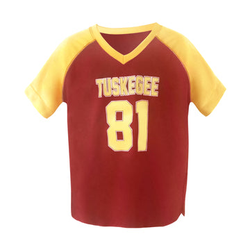 Tuskegee Crimson/Gold Football Jersey - HBCUprideandjoy