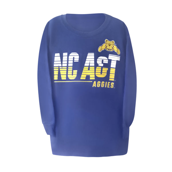 NC A&T Aggies Long Sleeve Youth Tee - HBCUprideandjoy
