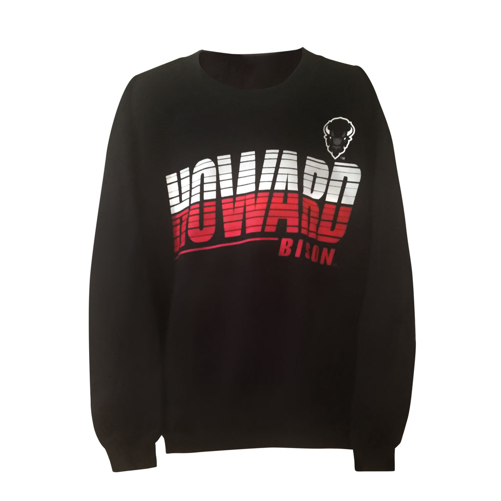 "Howard U ""Streak"" Youth Sweatshirt - HBCUprideandjoy"