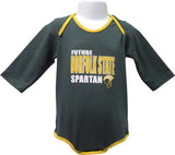 I'm a Future Norfolk State Spartan! Long-Sleeve Bodysuit - HBCUprideandjoy