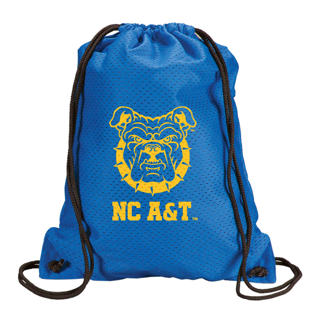 NC A&T Aggie Pride Mesh drawstring backpack