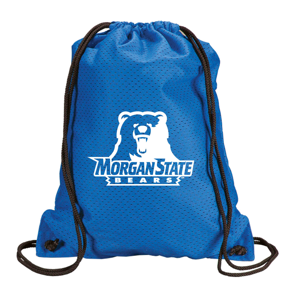 Morgan State Pride Mesh drawstring backpack