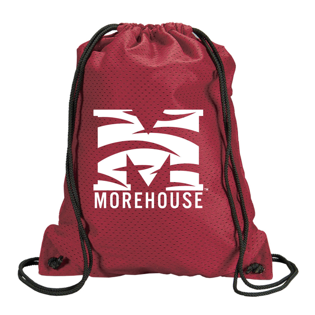 Morehouse Pride Mesh drawstring backpack