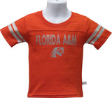 FAMU Blinged Out Little Lady Rattler T-Shirt Orange - HBCUprideandjoy