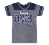 Hampton Diva in Training Glitter Pirate Tee - HBCUprideandjoy