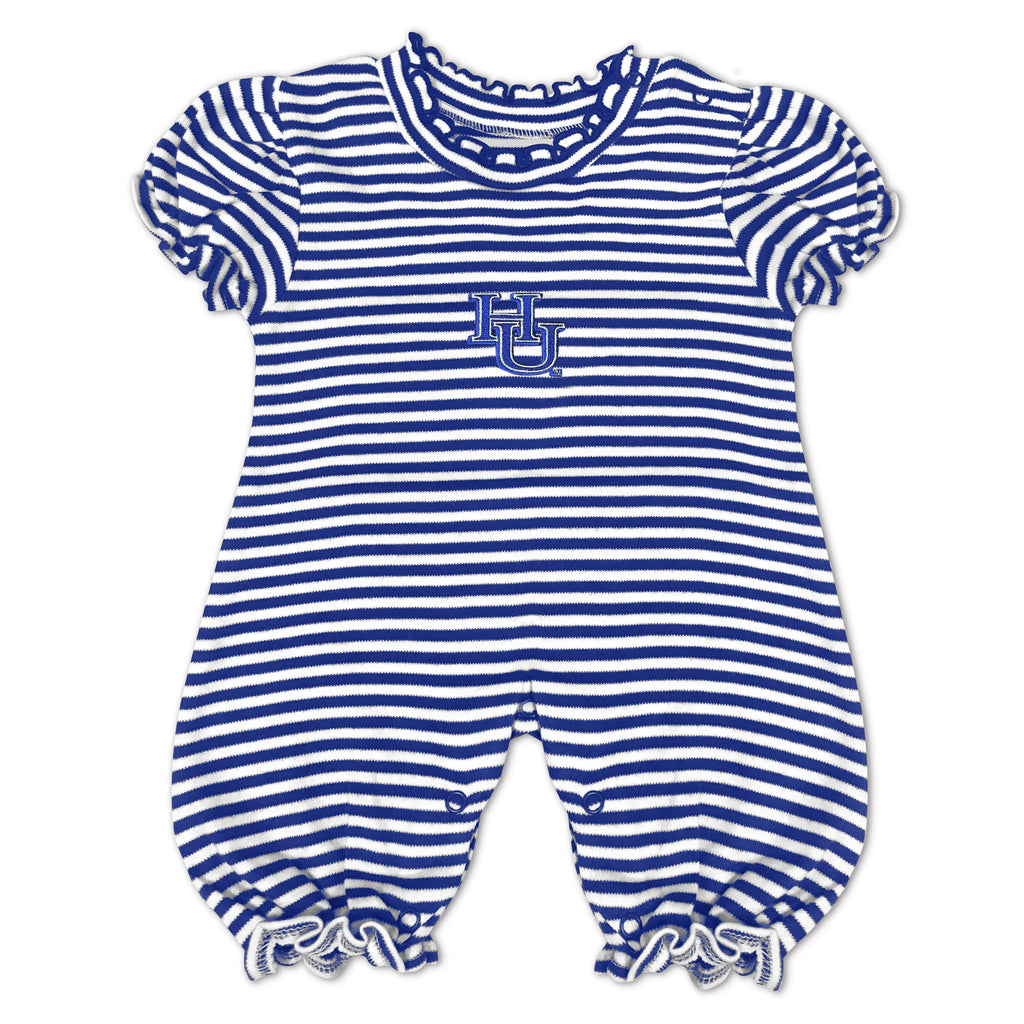 Hampton Cutie Striped Romper - HBCUprideandjoy