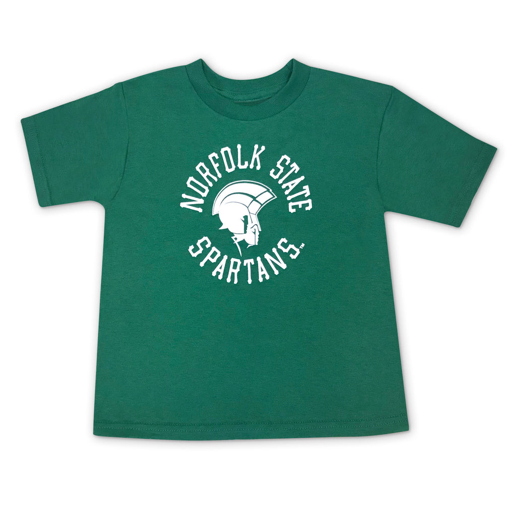 Proud Spartan Toddler Tee in Green - HBCUprideandjoy