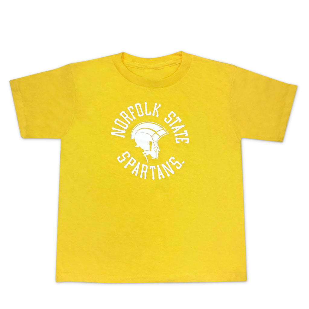 Proud Spartan Toddler Tee in Gold - HBCUprideandjoy