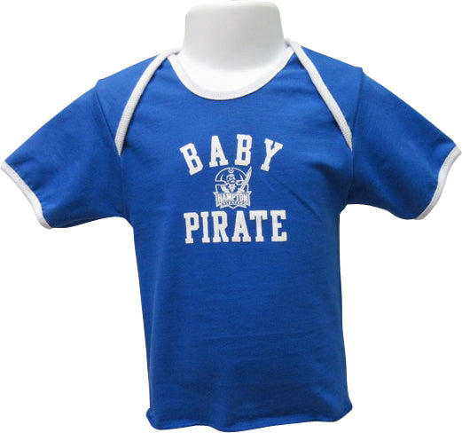 Proud Hampton Baby Pirate Lap Tee - HBCUprideandjoy