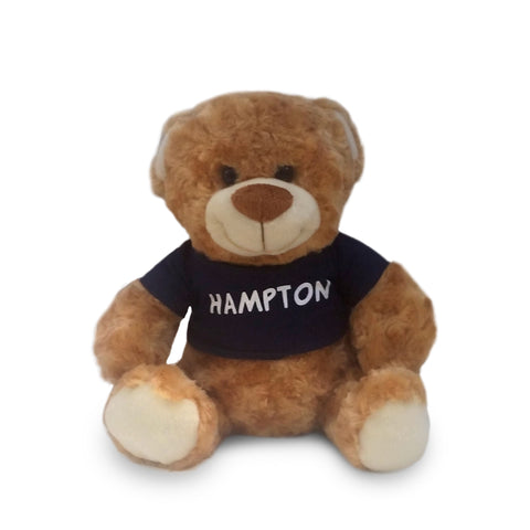 "Hampton Keepsake 13"" Teddy Bear - HBCUprideandjoy"