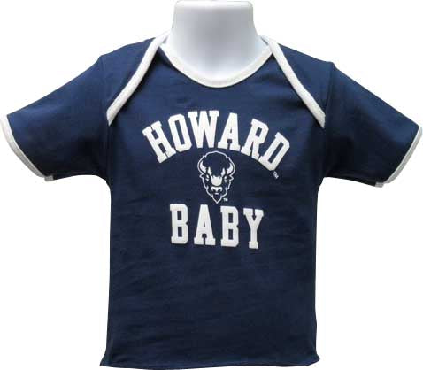 Proud Howard Baby Lap Tee - HBCUprideandjoy