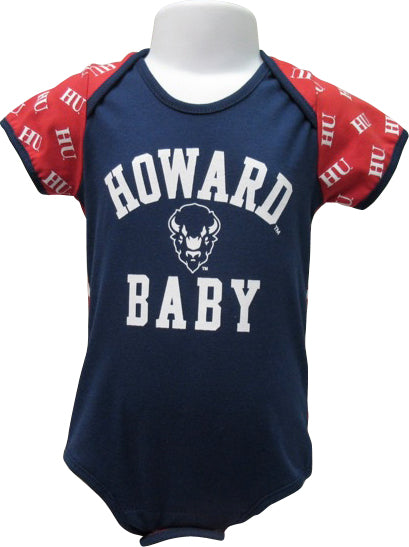 Proud Howard Baby Bodysuit in Blue - HBCUprideandjoy