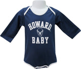 Proud Howard Baby Long-Sleeve Bodysuit - HBCUprideandjoy