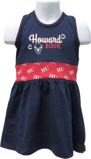 Little Howard Diva Spirit Dress - HBCUprideandjoy