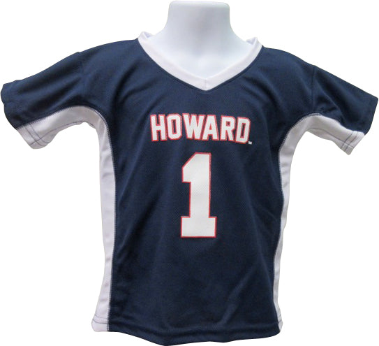 #1 Howard Fan Kid's Jersey - HBCUprideandjoy