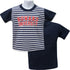 Howard Stripe Front Tee - HBCUprideandjoy