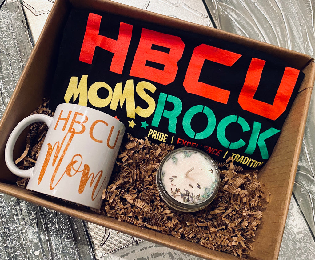 HBCU Moms Gift Set Black