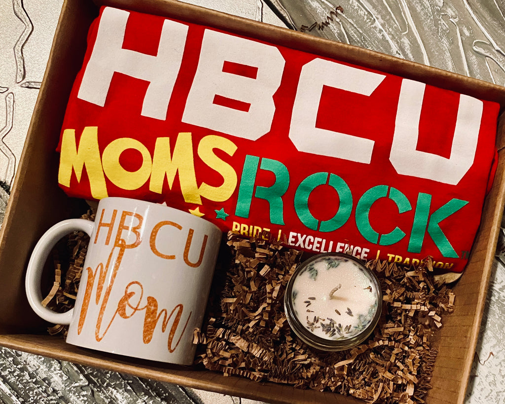 HBCU Moms Rock Gift Set Red