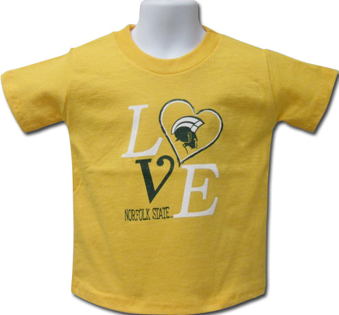 """LOVE""  Norfolk State Tee - HBCUprideandjoy"
