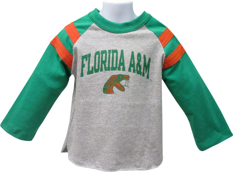 Florida A&M Rugby Style Long Sleeve Tee - HBCUprideandjoy