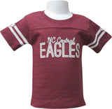 North Carolina Central Bling Girls Yoked Tee - HBCUprideandjoy