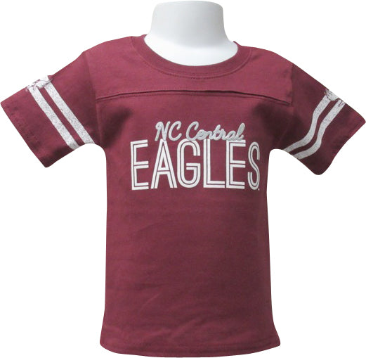 North Carolina Central Bling Girls Yoked Tee