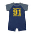 Aggie Style Baseball Inspired Infant Romper