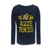 The Aggie Princess Long-Sleeve Youth Tee - HBCUprideandjoy