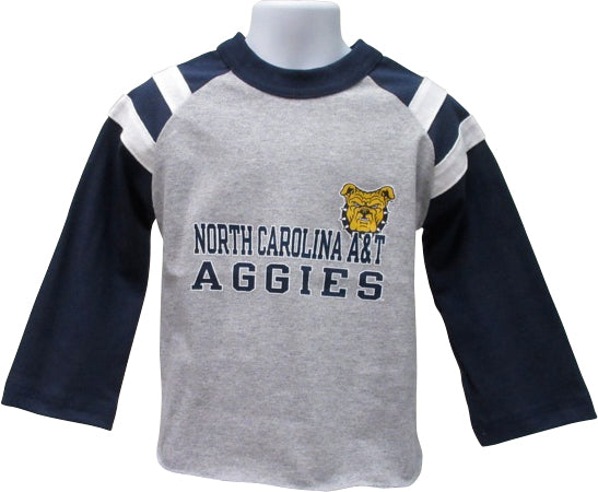 Aggie Rugby Inspired Long Sleeve Shirt - HBCUprideandjoy