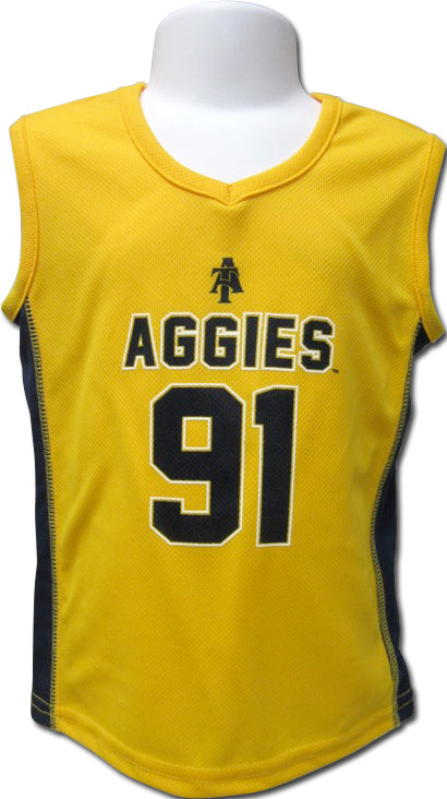 NC A&T Aggie Style Basketball Jersey