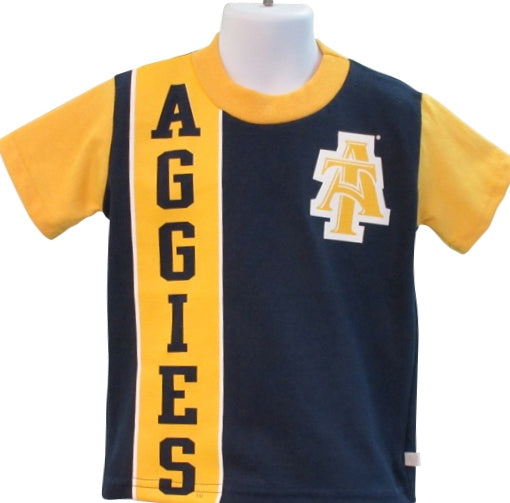 "NC A&T ""Blue & Gold Marching Machine"" Toddler Tee - HBCUprideandjoy"