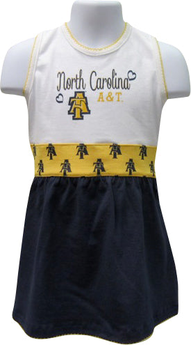 Little Aggie Diva Spirit Dress - HBCUprideandjoy
