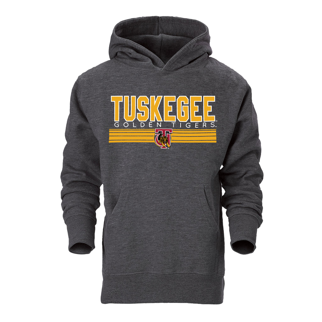 Tuskegee Golden Tigers Classic Hoodie in Gray