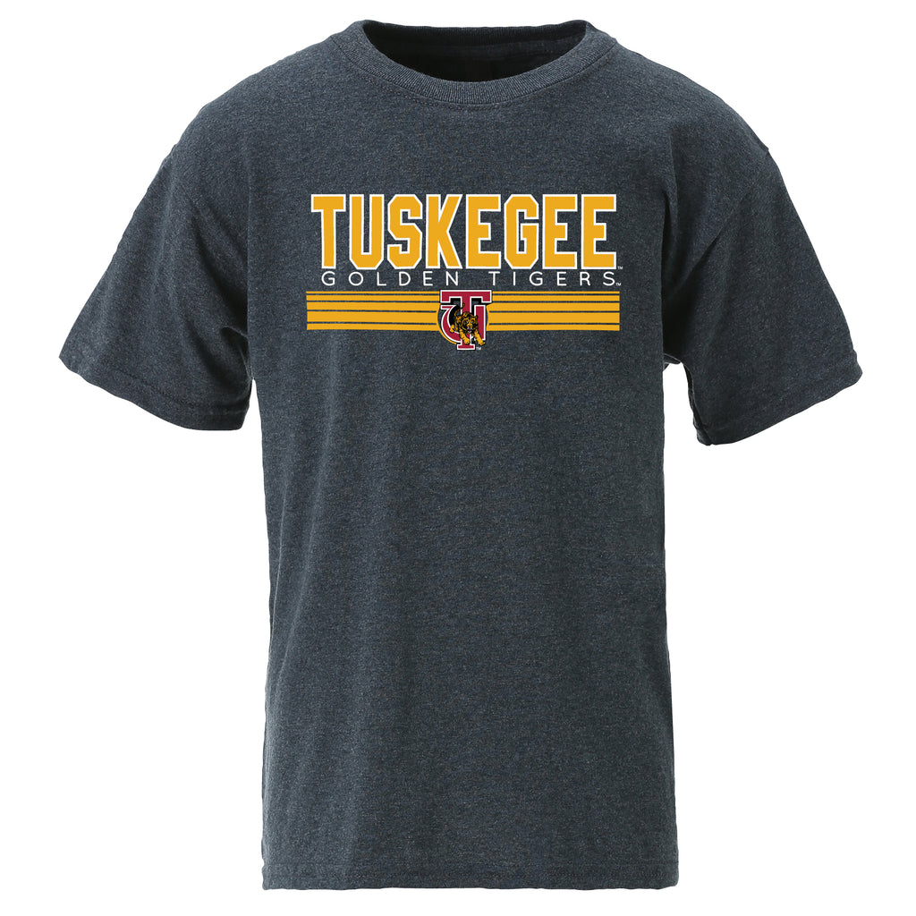Tuskegee Golden Tigers Classic Tee in Gray
