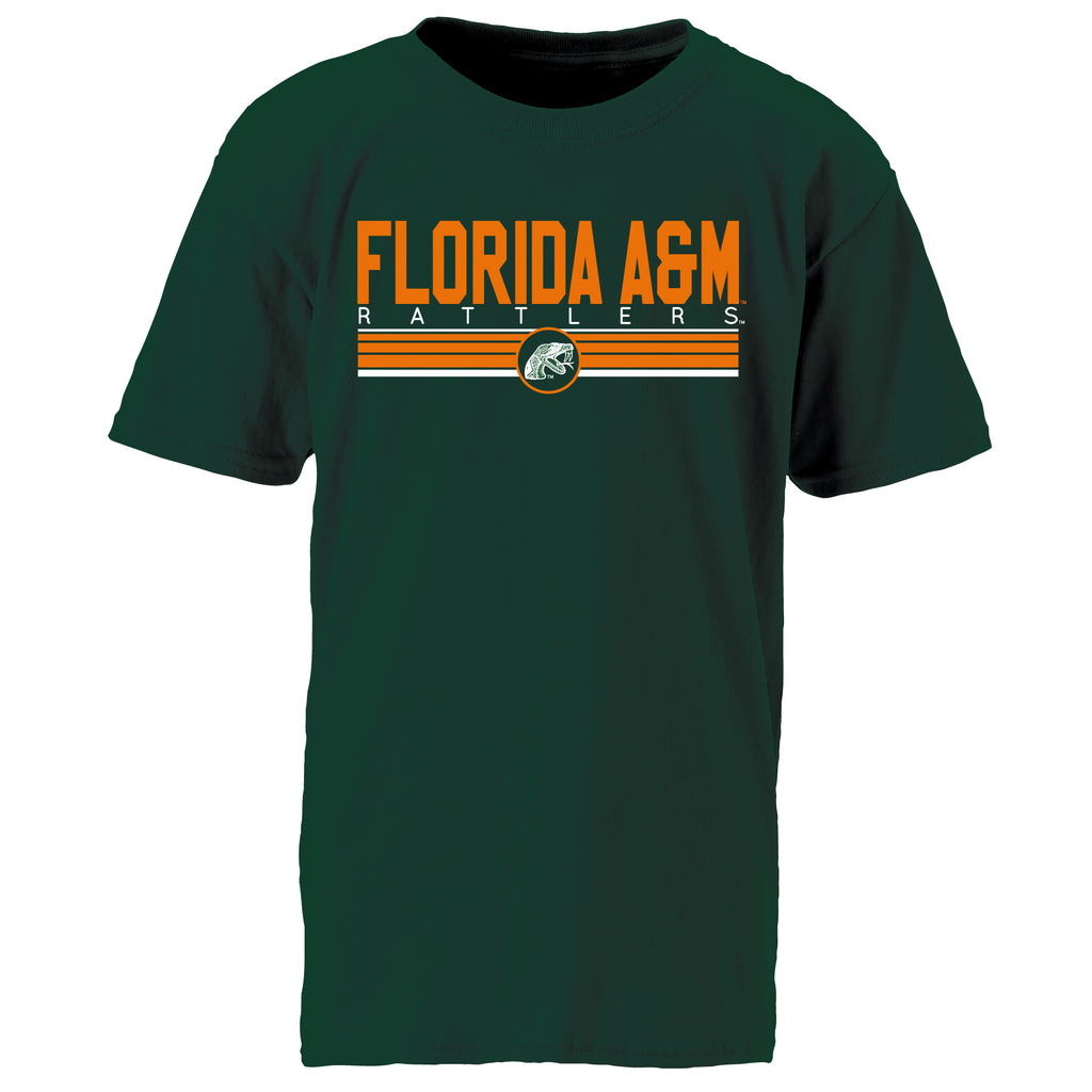 Florida A&M Rattlers Classic Tee in Green