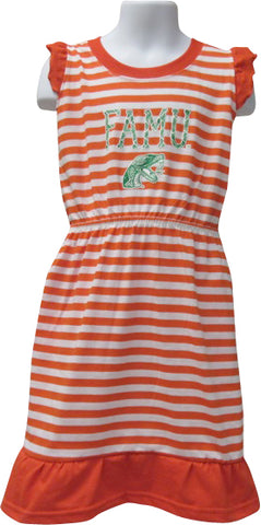 FAMU Queen in Training Stripe Dress - HBCUprideandjoy
