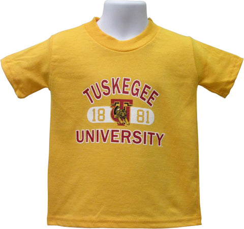 Tuskegee University Founders T-Shirt (Gold) by Next Generation HBCU - HBCUprideandjoy