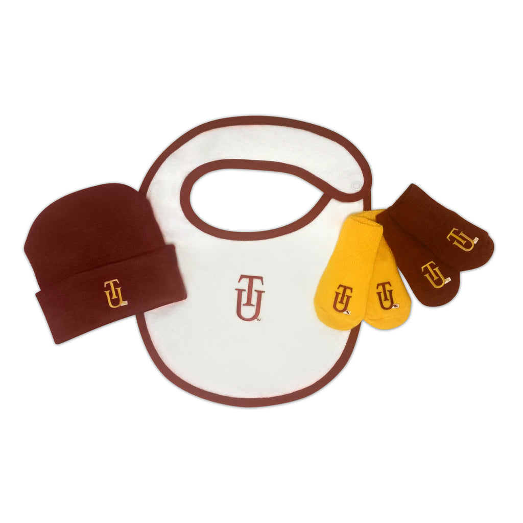 Tuskegee Golden Tiger Accessories Gift Set - HBCUprideandjoy