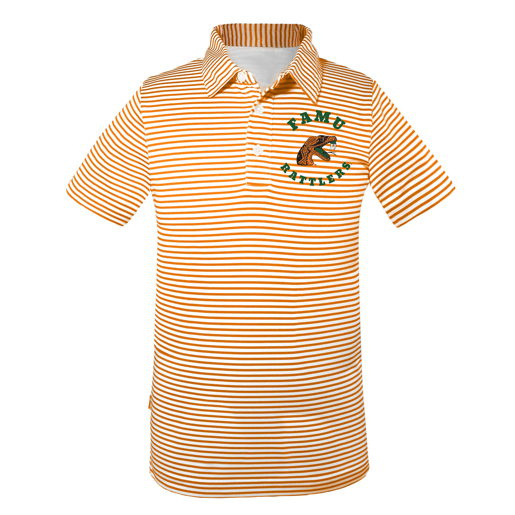 FAMU Prepster Striped Polo