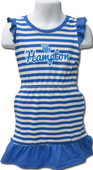 Hampton Queen in Training Stripe Dress - HBCUprideandjoy