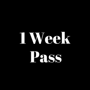 Gym 1-Week Pass