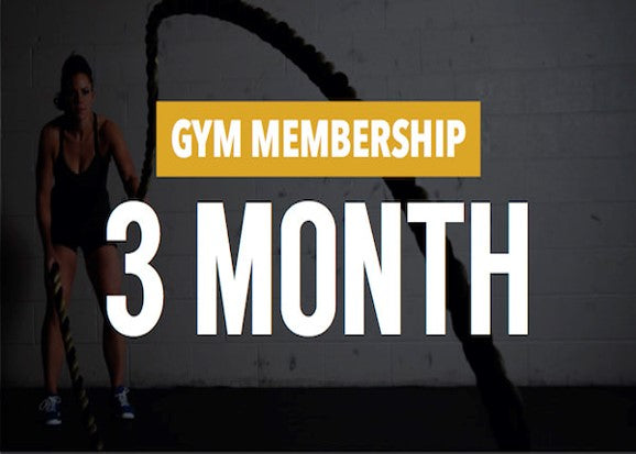 Gym 3-Month Membership