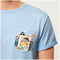 Small World Pocket Tee