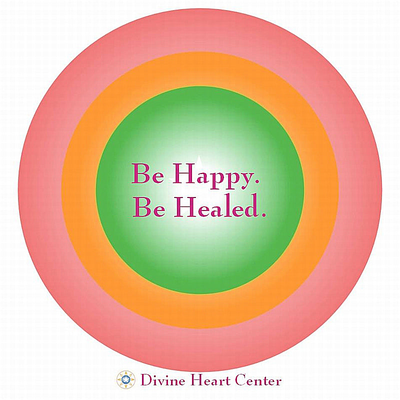 Be Happy Be Healed - Free Flow Meditation - Digital Download