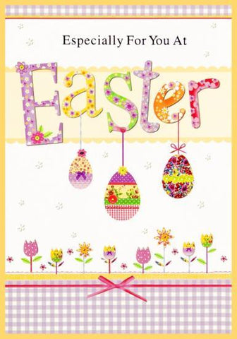 To all the family at Easter Card
