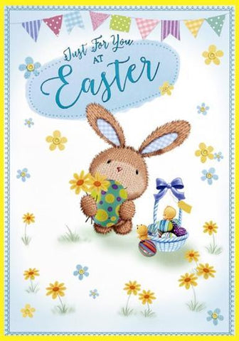Just For You At Easter Card